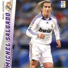 Cromos de Fútbol: MEGACRACKS 2008-09 Nº 148 MICHEL SALGADO - REAL MADRID. Lote 257365995
