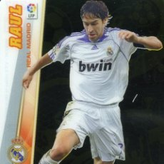 Cromos de Fútbol: MEGACRACKS 2008-09 Nº 387 RAUL - REAL MADRID. Lote 257369025