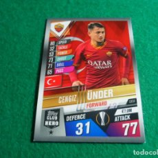Cromos de Fútbol: CH54 ÜNDER ROMA CLUB HERO TOPPS MATCH ATTAX CHAMPIONS LEAGUE 101 2019 2020 19 20 CH 54. Lote 257554795