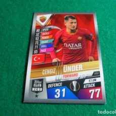 Cromos de Fútbol: CH54 ÜNDER ROMA CLUB HERO TOPPS MATCH ATTAX CHAMPIONS LEAGUE 101 2019 2020 19 20 CH 54. Lote 257554805