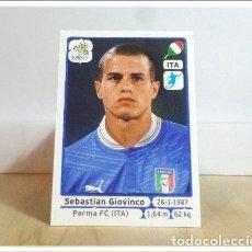 Cromos de Fútbol: EURO2012 POLAND UKRAINE PANINI GIOVINCO Nº 331 ITALIA ALBUM EURO 2012 EUROCOPA POLONIA UCRANIA. Lote 257556945