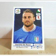Cromos de Fútbol: EURO2012 POLAND UKRAINE PANINI DE ROSSI Nº 324 ITALIA ALBUM EURO 2012 EUROCOPA POLONIA UCRANIA. Lote 257557065