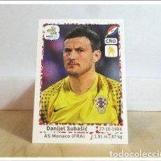 Cromos de Fútbol: EURO2012 POLAND UKRAINE PANINI SUBASIC Nº 375 CROACIA ALBUM EURO 2012 EUROCOPA POLONIA UCRANIA. Lote 257557250