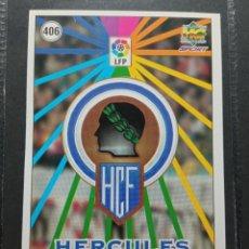 Cromos de Fútbol: MUNDICROMO CROMO NUEVO 98 99 ESCUDO Nº 406 HERCULES CF. Lote 257616525