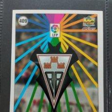 Cromos de Fútbol: MUNDICROMO CROMO NUEVO 98 99 ESCUDO Nº 409 SD ALBACETE BALONPIE. Lote 257618010