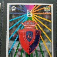 Cromos de Fútbol: MUNDICROMO CROMO NUEVO 98 99 ESCUDO Nº 410 C AT OSASUNA. Lote 257618245