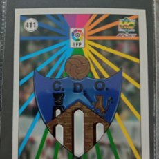 Cromos de Fútbol: MUNDICROMO CROMO NUEVO 98 99 ESCUDO Nº 411 CD OURENSE. Lote 257620015