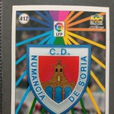 Cromos de Fútbol: MUNDICROMO CROMO NUEVO 98 99 ESCUDO Nº 412 CD NUMANCIA. Lote 257620200