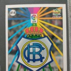 Cromos de Fútbol: MUNDICROMO CROMO NUEVO 98 99 ESCUDO Nº 414 RECREATIVO HUELVA. Lote 257621620