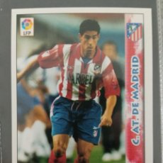 Cromos de Fútbol: MUNDICROMO NUEVO 98 99 ULTIMA HORA I Nº 423 MENA AT MADRID. Lote 257654620