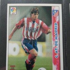Cromos de Fútbol: MUNDICROMO NUEVO 98 99 ULTIMA HORA I Nº 424 SERENA AT MADRID. Lote 257654770