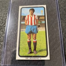 Cromos de Fútbol: HERRERO II SPORTING GIJON. 182. RUIZ ROMERO 74 75 1974 1975 . HUESO .. Lote 257728965