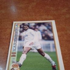 Cromos de Fútbol: KAREMBEU #14 UH REAL MADRID MUNDICROMO 1997-1998. Lote 257931450