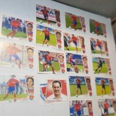 Cromos de Fútbol: CROMOS FUTBOL LIGA 2004/05 C.D. NUMANCIA NO PEGADOS BUEN ESTADO 17 CROMOS ALGUNO MUY ESCASO. Lote 258015515