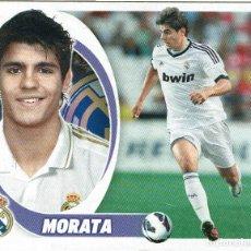 Cromos de Fútbol: 5 BIS MORATA COLOCA REAL MADRID LIGA 2012-2013 12-13 - PANINI - NUNCA PEGADO. Lote 288438968