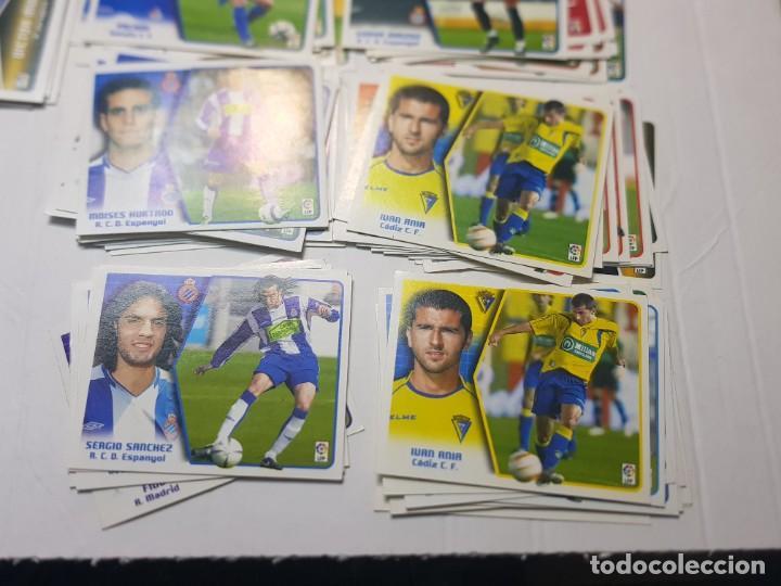CROMOS FUTBOL 2005/06 COLECCIONES ESTE LOTE 118 SIN PEGAR ALGUNO ESCASO (Coleccionismo Deportivo - Álbumes y Cromos de Deportes - Cromos de Fútbol)