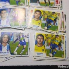Cromos de Fútbol: CROMOS FUTBOL 2005/06 COLECCIONES ESTE LOTE 118 SIN PEGAR ALGUNO ESCASO. Lote 258045245