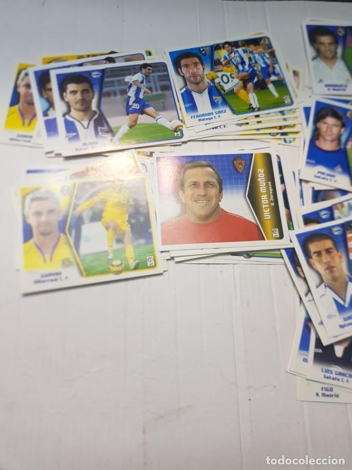 Cromos de Fútbol: Cromos futbol 2005/06 colecciones Este lote 118 sin pegar alguno escaso - Foto 4 - 258045245