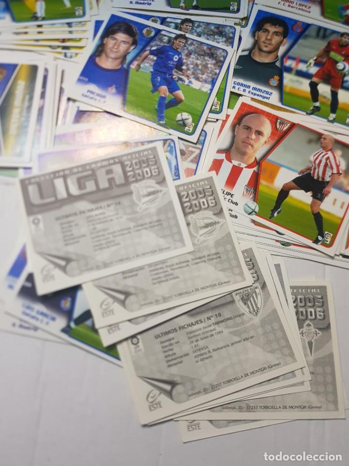 Cromos de Fútbol: Cromos futbol 2005/06 colecciones Este lote 118 sin pegar alguno escaso - Foto 5 - 258045245