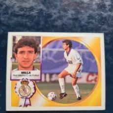 Cromos de Futebol: MILLA - REAL MADRID - 1994 1995 94 95 - CROMO EDICIONES ESTE - NUNCA PEGADO. Lote 258098170