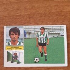 Cromos de Fútbol: COLOCA HERRERO (RACING SANTANDER) LIGA 82-83 ESTE. NUNCA PEGADO. Lote 258173200