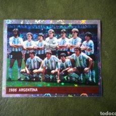 Figurine di Calcio: CROMO SELECCIÓN ARGENTINA MARADONA. Lote 258179305