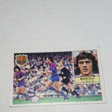 Cromos de Futebol: CROMO DE FUTBOL MORATALLA F.C. BARCELONA ALBUM ESTE LIGA 84 / 85 - FHER -DISGRA -CANO. Lote 258222630