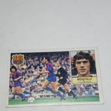 Cromos de Futebol: CROMO DE FUTBOL MORATALLA F.C. BARCELONA ALBUM ESTE LIGA 84 / 85 - FHER -DISGRA -CANO. Lote 258223145