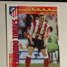 Cromos de Fútbol: FERNANDO TORRES ROOKIE 02 03 FUTBOL MATCH TOTAL. Lote 258235440