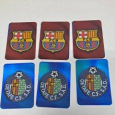 Cromos de Fútbol: MUNDICROMO 2006 LOTE DE 10 ESCUDOS BRILLANTES DE 1º DIVISION. Lote 259234405