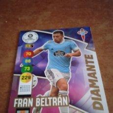 Cromos de Fútbol: #412 FRAN BELTRÁN ADRENALYN 2020-2021 DIAMANTE. Lote 259858940