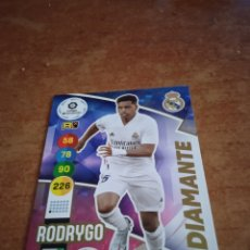 Cromos de Fútbol: #417 RODRYGO DIAMANTE REAL MADRID ADRENALYN 2021. Lote 259859425