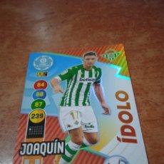 Cromos de Fútbol: #368 JOAQUÍN IDOLO BETIS ADRENALYN 2020-2021. Lote 259864785