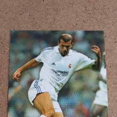 Cromos de Fútbol: TOP LIGA 2001 2002 MUNDICROMO - 169 ZIDANE ( ROOKIE CARD ) - REAL MADRID - CP2. Lote 260272190