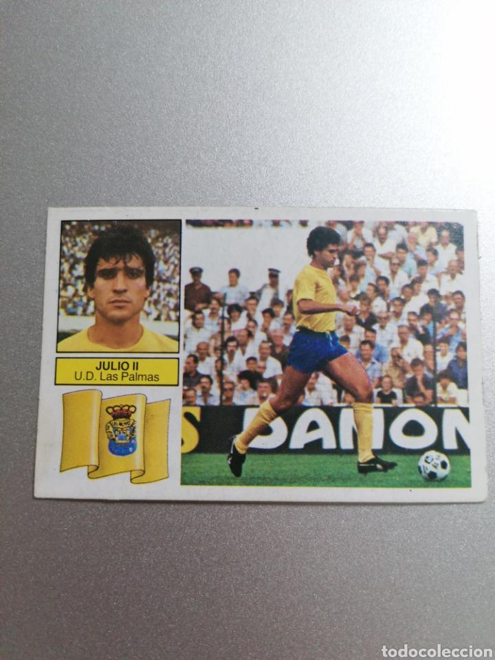 JULIO II 82 83 NUEVOS SIN PEGAR U.D. LAS PALMAS EDICIONES ESTE (Coleccionismo Deportivo - Álbumes y Cromos de Deportes - Cromos de Fútbol)