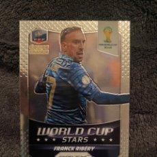 Cromos de Fútbol: PRIZM 2014 WORLD CUP STARS RIBERY FRANCIA. Lote 260579905