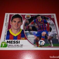 Cromos de Fútbol: CROMO MESSI F.C. BARCELONA DE LA LIGA EDICIONES ESTE TEMPORADA 2014 2015 14 15 - NUNCA PEGADO -. Lote 260762930