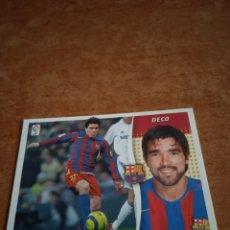 Cromos de Fútbol: DECO LIGA ESTE 2006-2007 FC BARCELONA. Lote 260803225