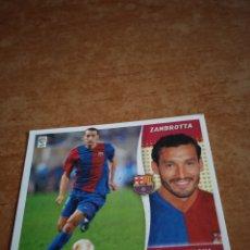 Cromos de Fútbol: ZAMBROTTA ÚLTIMO FICHAJE 12 LIGA ESTE 2007 FC BARCELONA. Lote 260803720