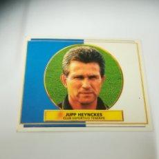 Cromos de Fútbol: CROMO ENTRENADORES J. HEYNCKES. Lote 260834920