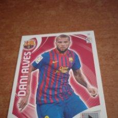 Cromos de Fútbol: DANI ALVES #38 FC BARCELONA ADRENALYN 2011-2012. Lote 260841140