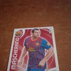 Cromos de Fútbol: MASHERANO #44 FC BARCELONA ADRENALYN 2011-2012. Lote 260841280