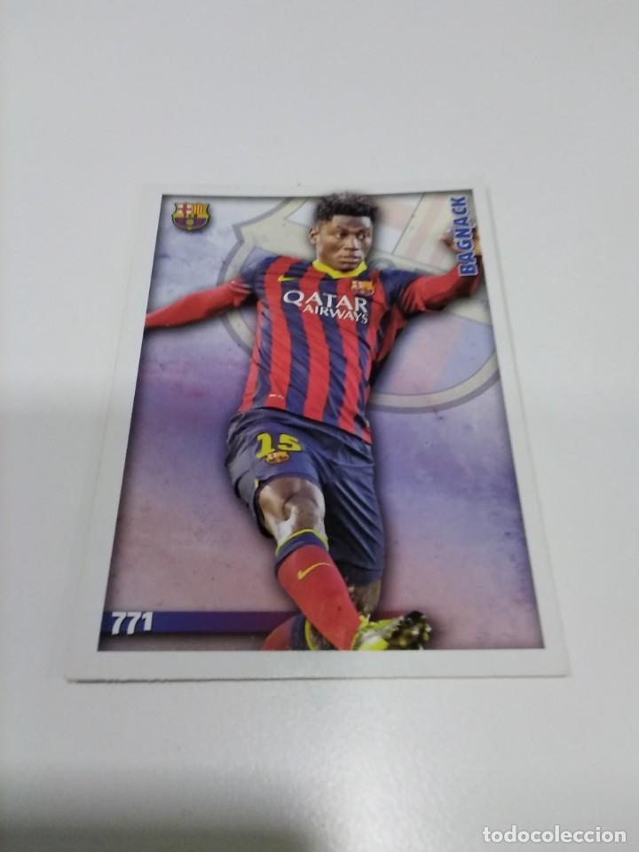 MUNDICROMO 2025 N° 771 BAGNACK - BARCELONA B. (Coleccionismo Deportivo - Álbumes y Cromos de Deportes - Cromos de Fútbol)