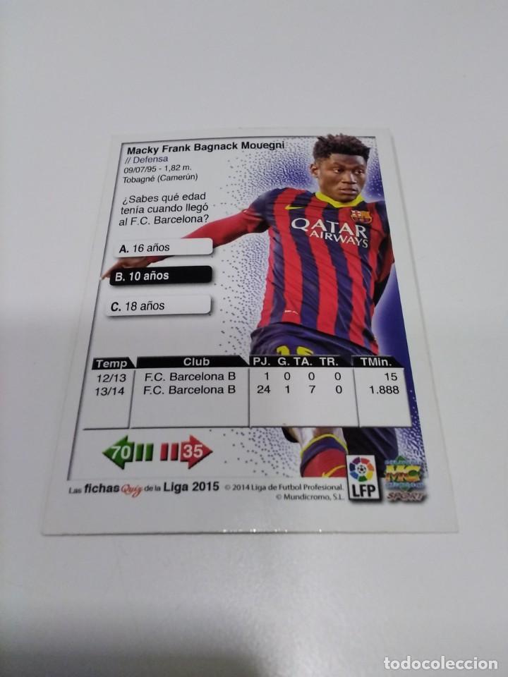 Cromos de Fútbol: Mundicromo 2025 n° 771 Bagnack - Barcelona B. - Foto 2 - 261121275