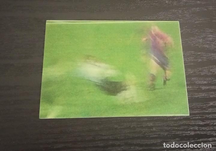 -VIDEO-CARDS FUTBOL LIGA 96-97 : 7 DE LA PEÑA ( BARCELONA ) (Coleccionismo Deportivo - Álbumes y Cromos de Deportes - Cromos de Fútbol)