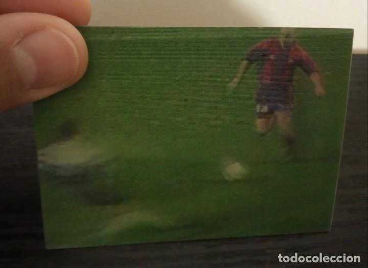 Cromos de Fútbol: -VIDEO-CARDS FUTBOL LIGA 96-97 : 7 DE LA PEÑA ( BARCELONA ) - Foto 2 - 261121290