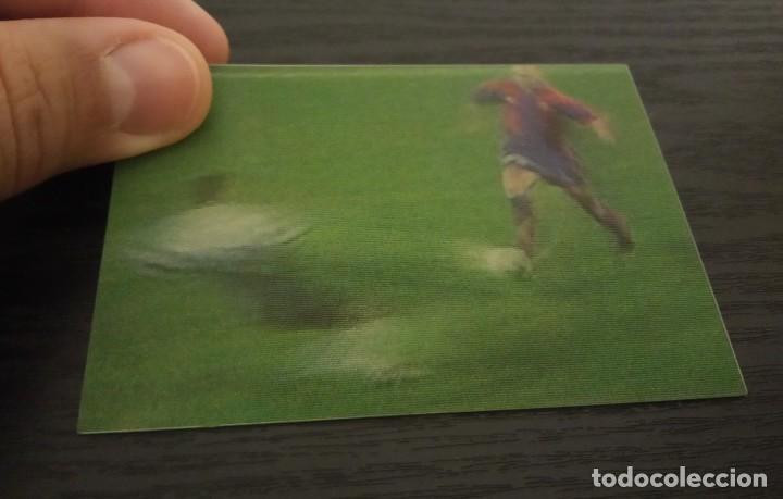 Cromos de Fútbol: -VIDEO-CARDS FUTBOL LIGA 96-97 : 7 DE LA PEÑA ( BARCELONA ) - Foto 3 - 261121290