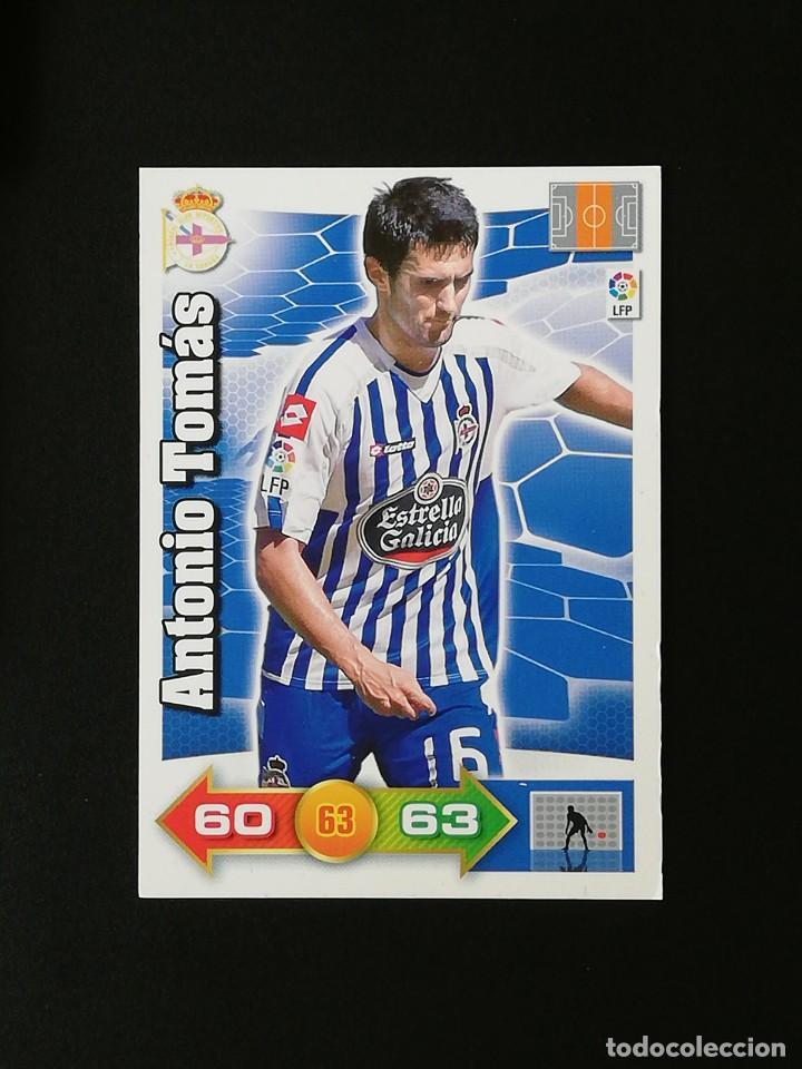 DEP ANTONIO TOMAS RC DEPORTIVO 2010 2011 ADRENALYN XL 10 11 PANINI (Coleccionismo Deportivo - Álbumes y Cromos de Deportes - Cromos de Fútbol)