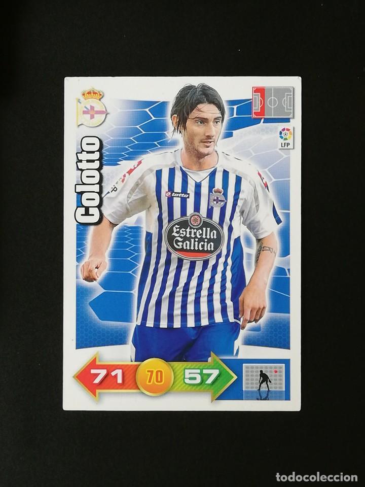 DEP COLOTTO RC DEPORTIVO 2010 2011 ADRENALYN XL 10 11 PANINI (Coleccionismo Deportivo - Álbumes y Cromos de Deportes - Cromos de Fútbol)