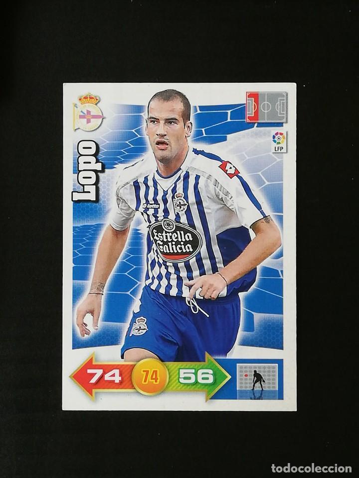 DEP LOPO RC DEPORTIVO 2010 2011 ADRENALYN XL 10 11 PANINI (Coleccionismo Deportivo - Álbumes y Cromos de Deportes - Cromos de Fútbol)